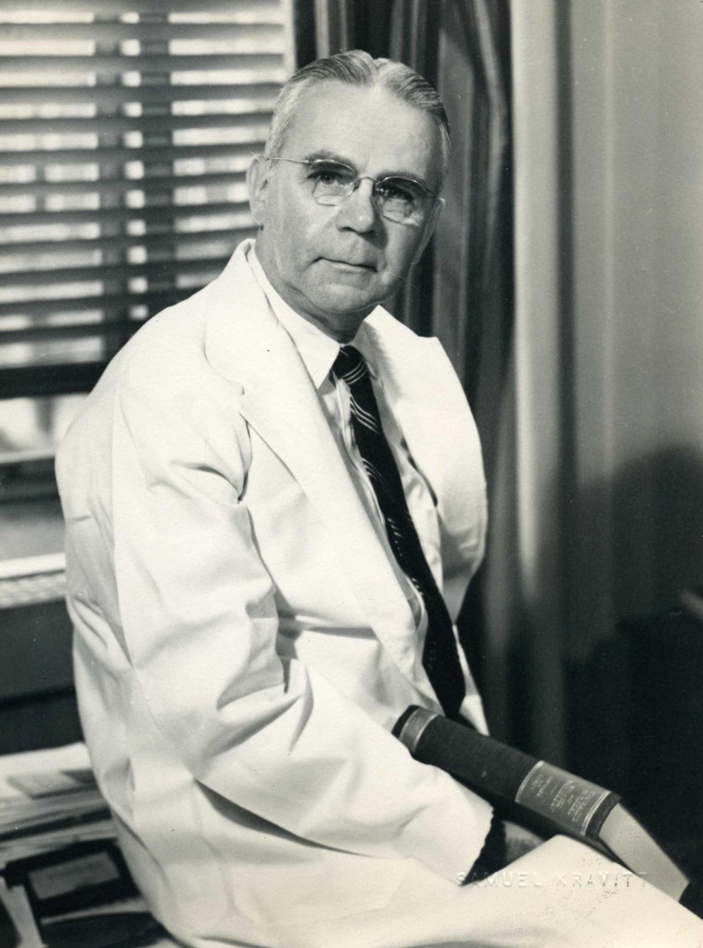 Gustaf E. Lindskog believed that a cancer patient might benefit from a new therapy for reducing tumors that his colleagues had developed.