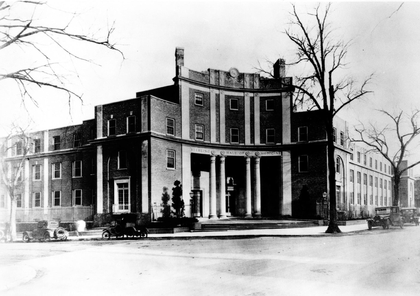 Sterling Hall of Medicine in 1925, five years into Winternitz's deanship.