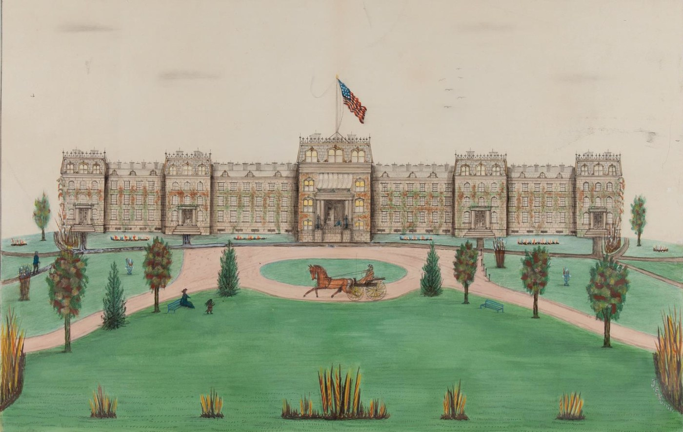 The collection has pieces of historical significance, such as those dealing with 18th- or 19th-century American history.