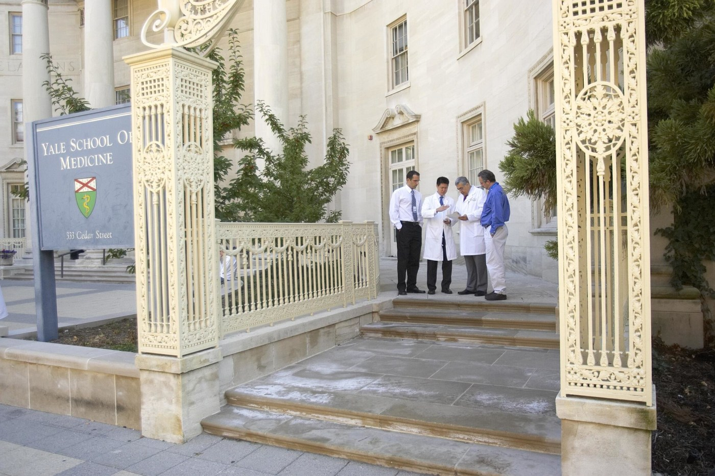 Our physicians discussing the most up-to-date medical procedures & practices - wherever they can…