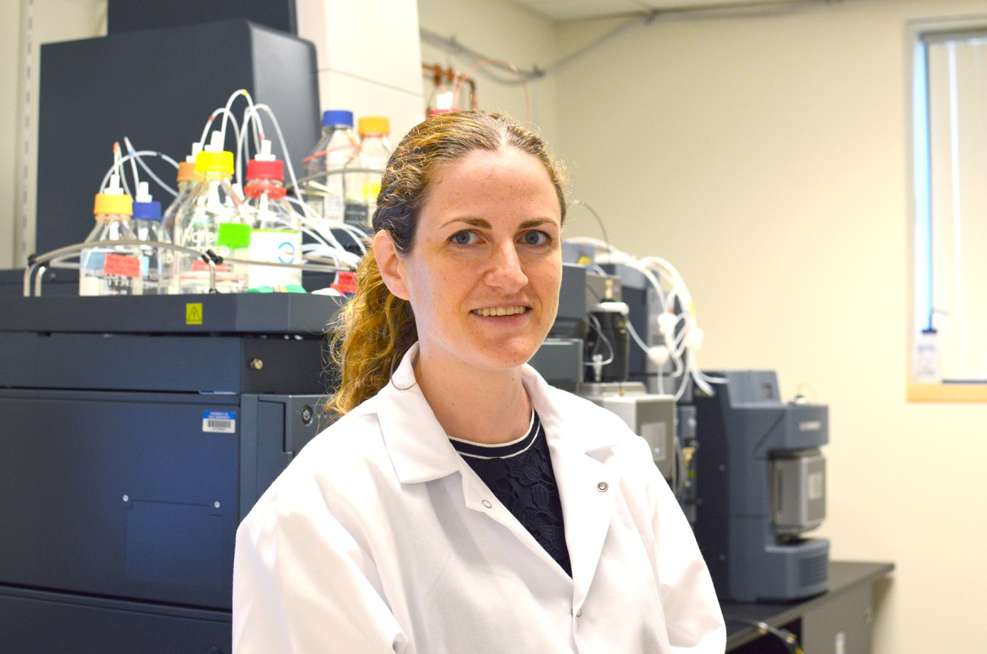 Dr. Caroline Johnson is seeking answers to why women have higher rates of a more deadly right-sided colon cancer than men.
