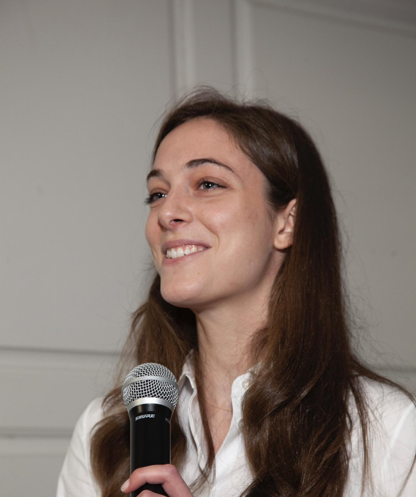 Madeline Kratz, PA student speaker