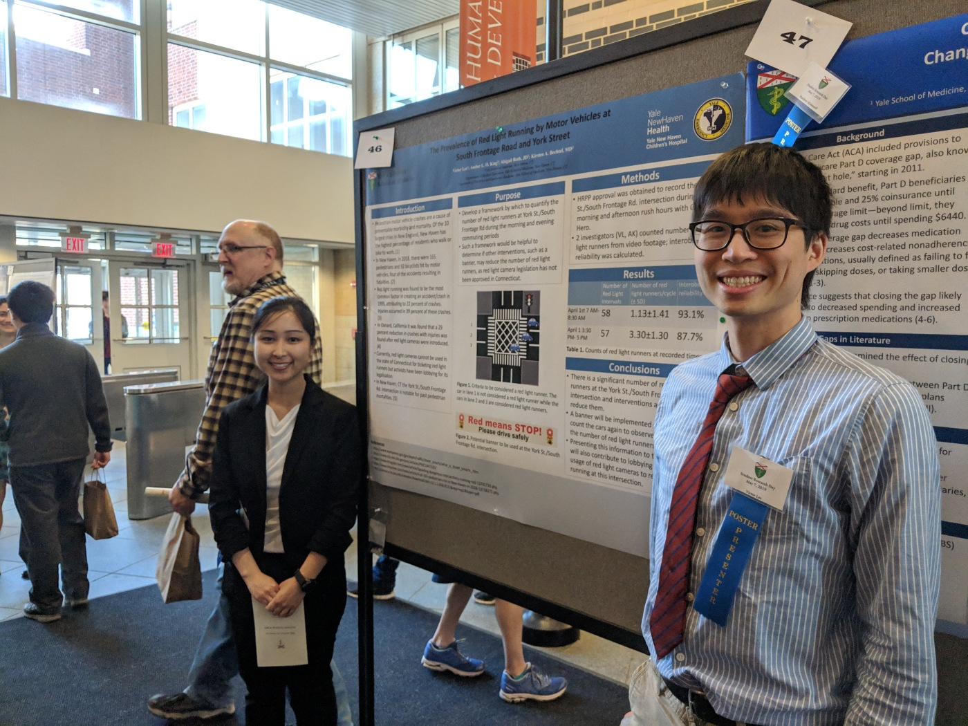 Amber King, MD '22 and Victor Lee, MD '22
