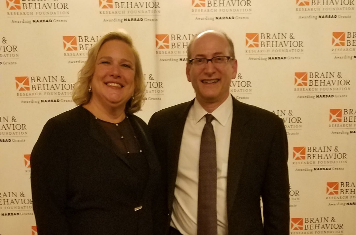 Blumberg Receives Colvin Prize for Outstanding Achievement in Mood Disorders Research