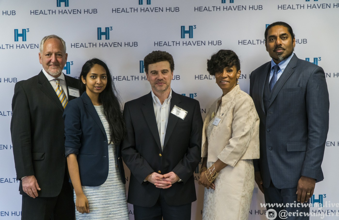Dr. David Pearlstone, Kirthi Bellamkonda, Oleg Shikhman, Donna Lecky, and Sri Muthu
