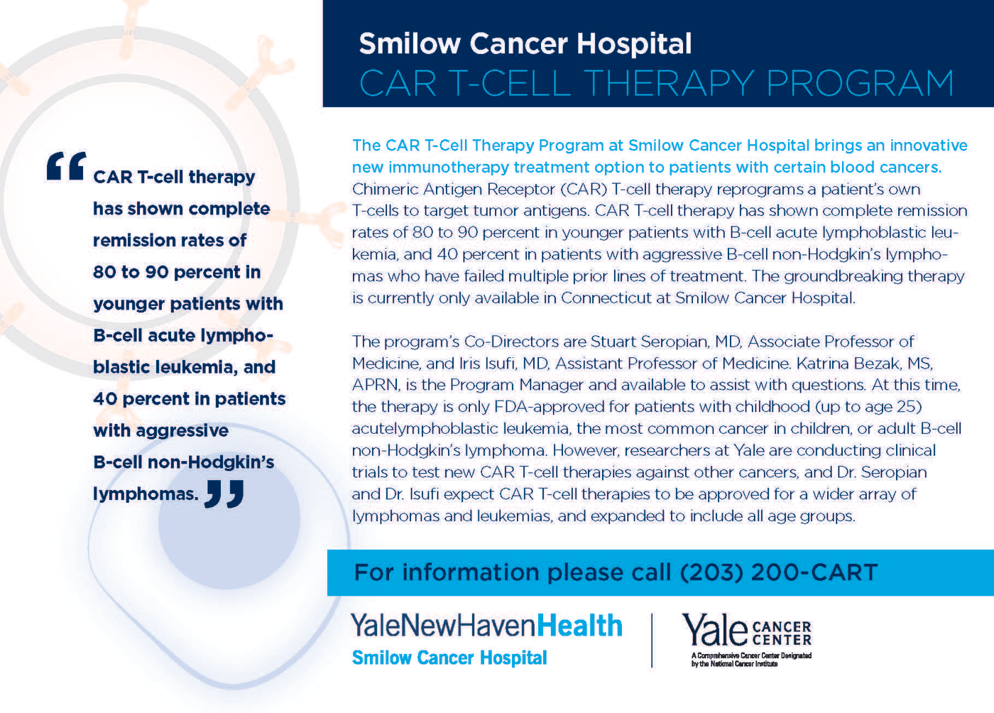 CAR T-Cell Therapy Program