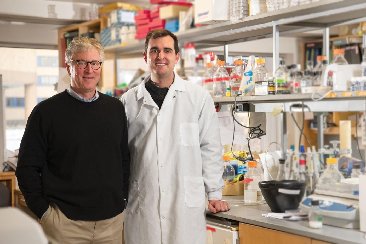 Peter Glazer, MD and Parker Sulkowski