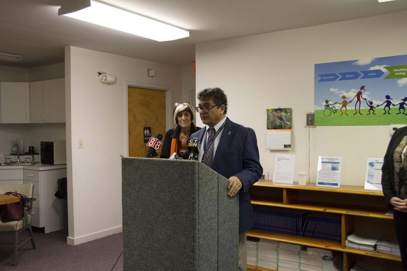 Vasilis Vasiliou, chair, Department of Environmental Health Sciences