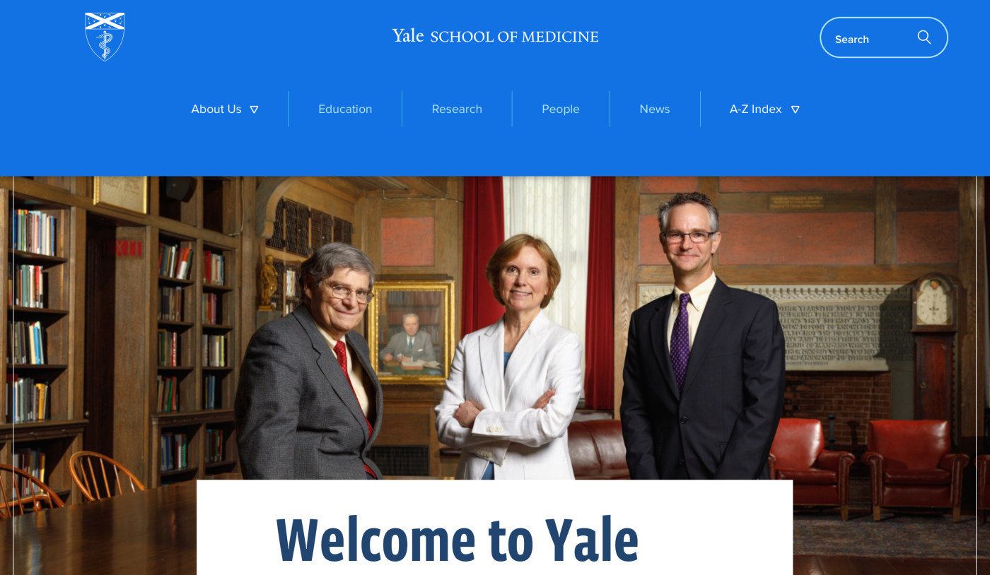 New look and feel for the YSM Home Page