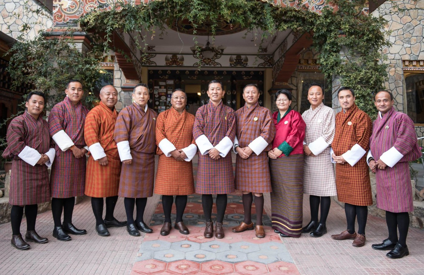Bhutan's New Cabinet
