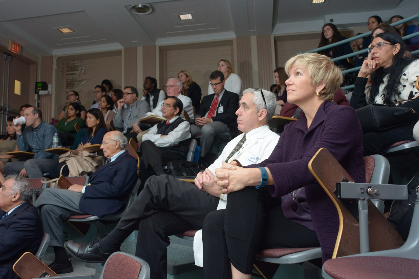 Partnership celebrated at grand rounds