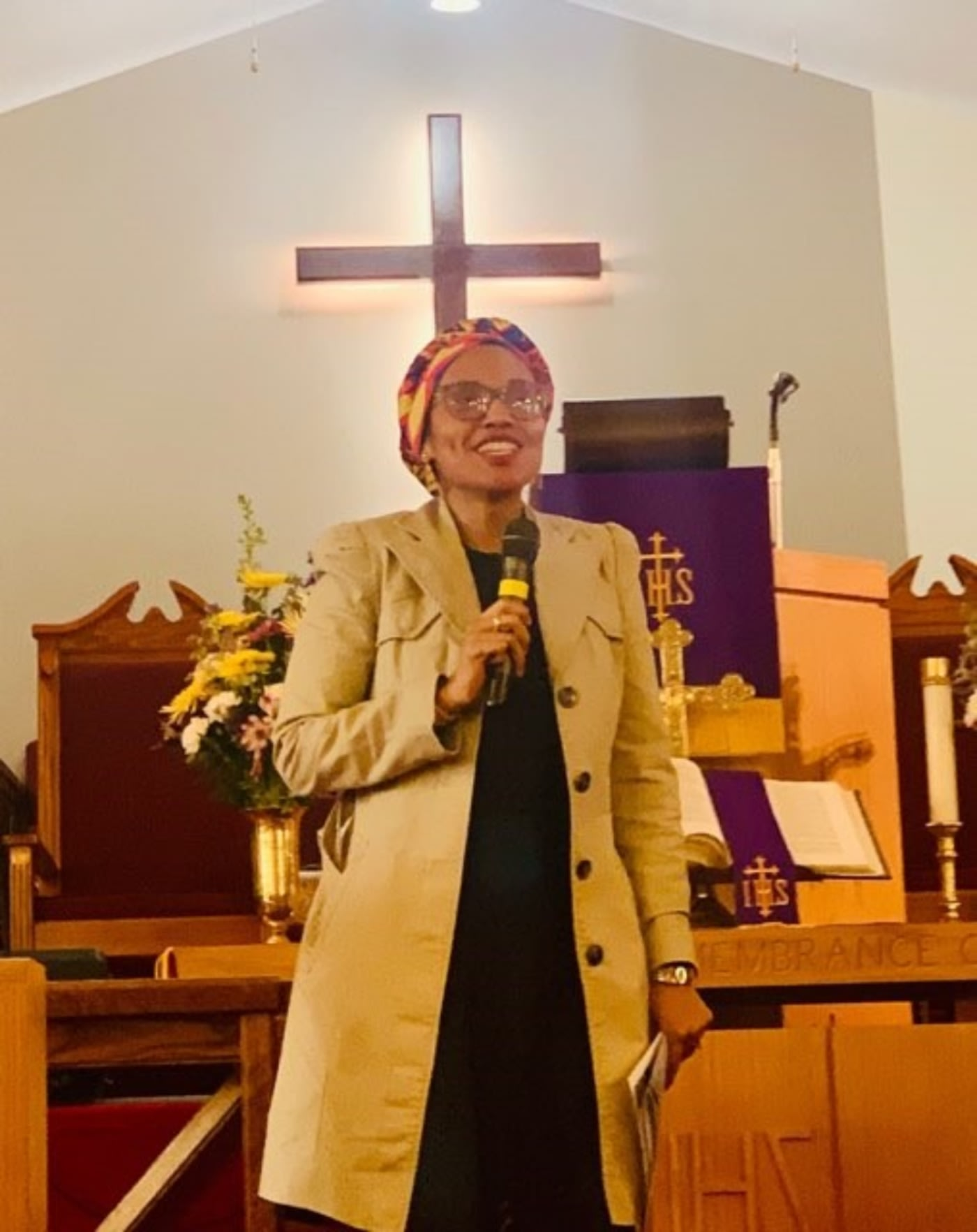 Harding Speaks at The Hartford District Of The AME Zion Church