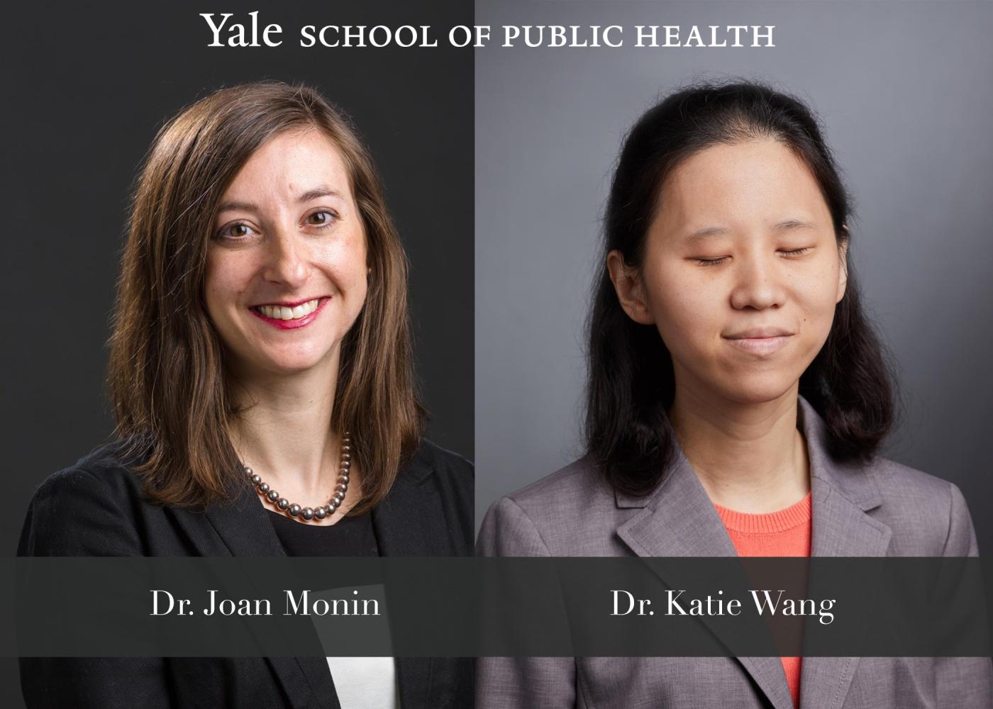 Dr. Joan Monin and Dr. Katie Wang