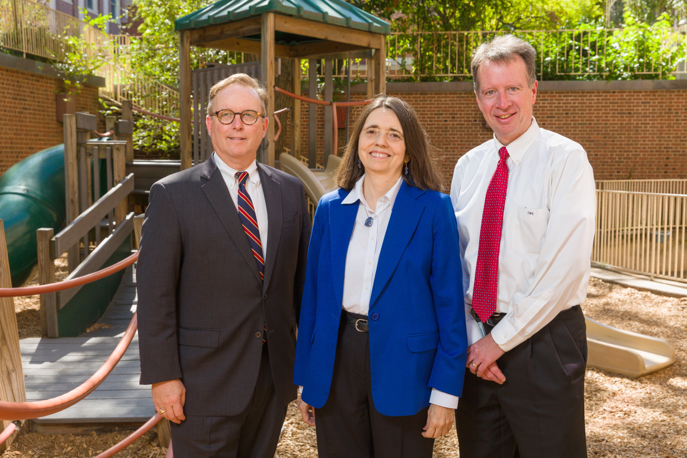 From left to right: Clifford W. Bogue, MD; Linda C. Mayes, MD; and Thomas M. Gill, MD.