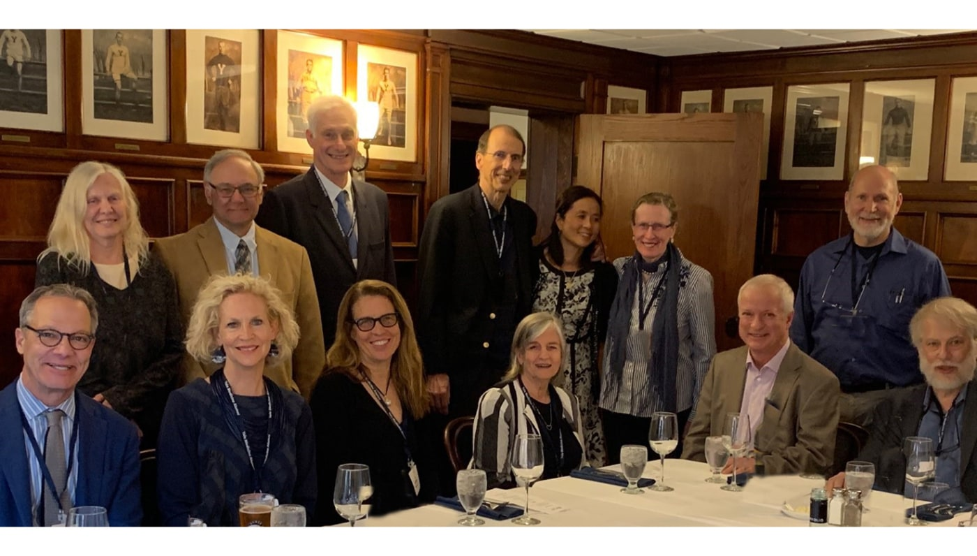 40th Reunion Dinner at Mory's, June 1, 2019