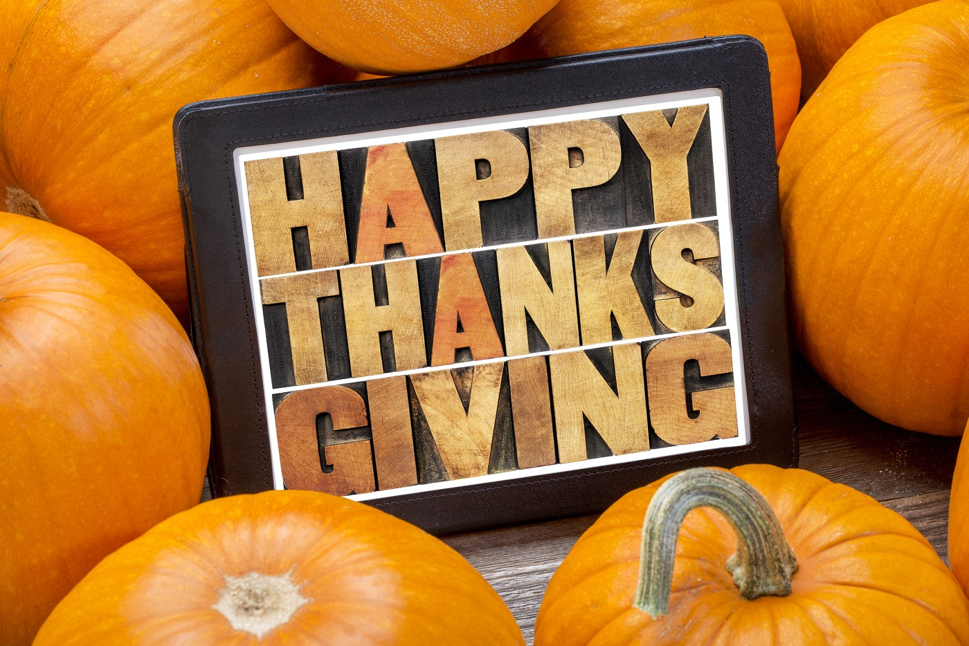 Happy Thanksgiving from our team to yours!