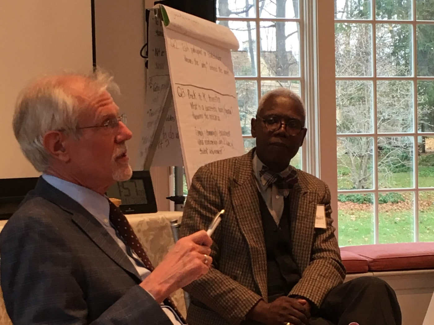 Fireside chat with John Easton and George Coleman