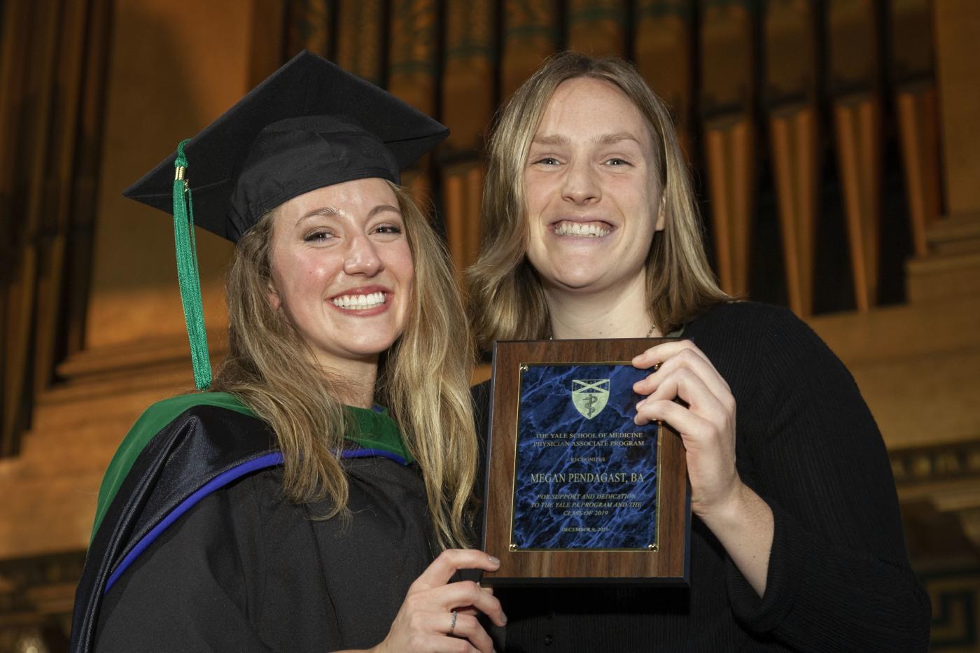Megan Pendagast receives Class of 2019 award
