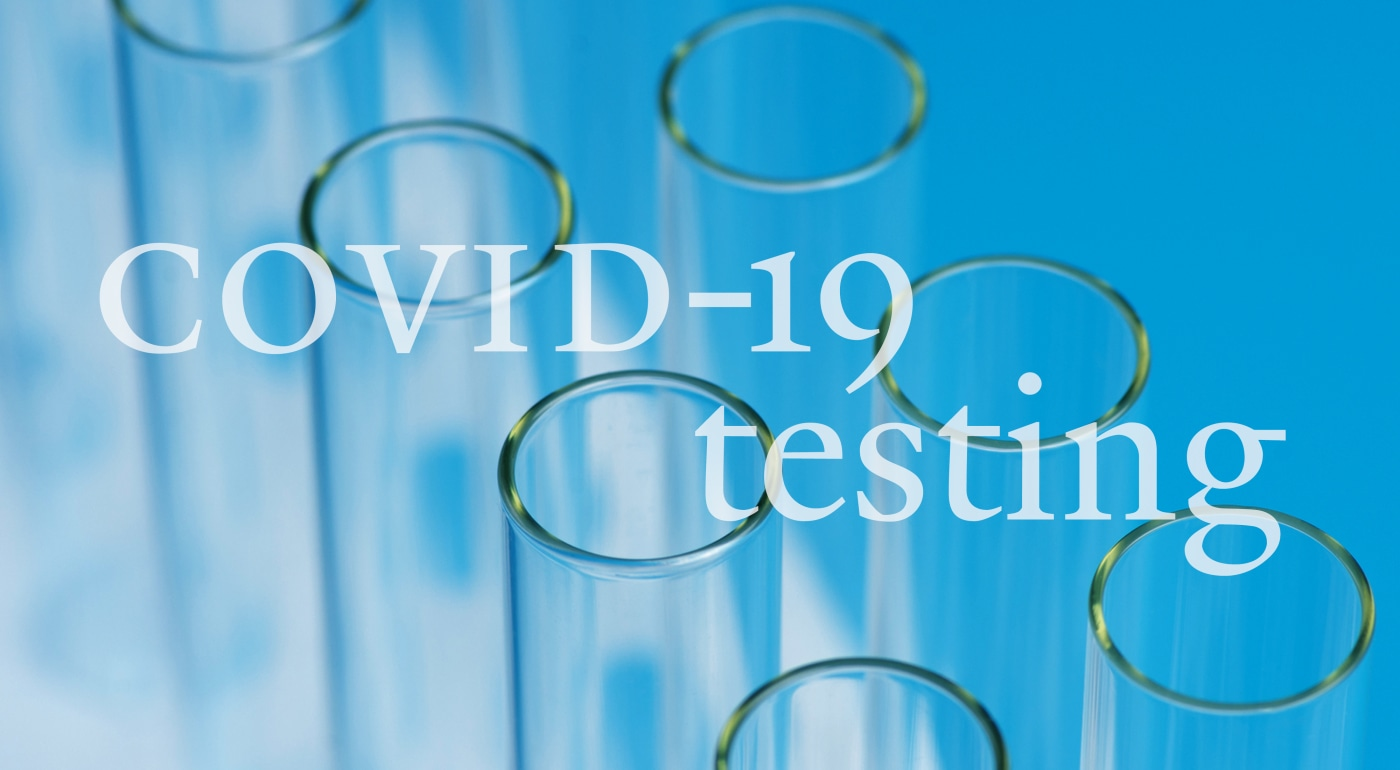 COVID-19 testing image