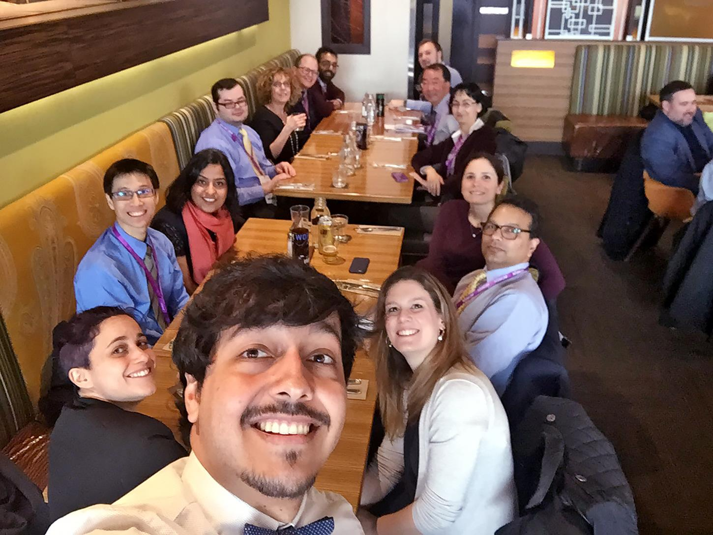 residents at USCAP 2018