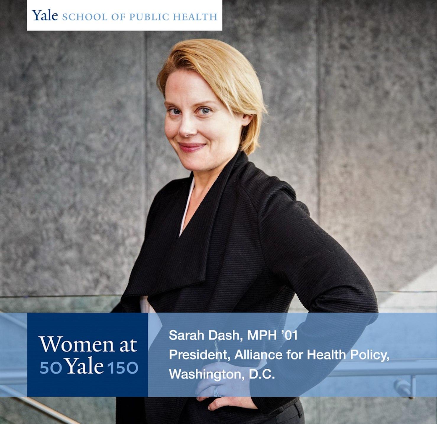 Sarah Dash, MPH '01
