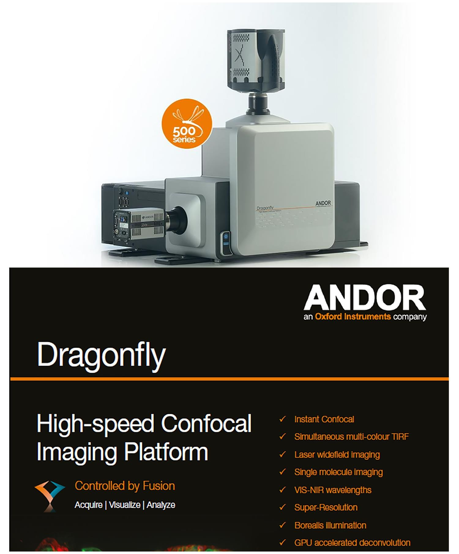 Andor Dragonfly confocal system