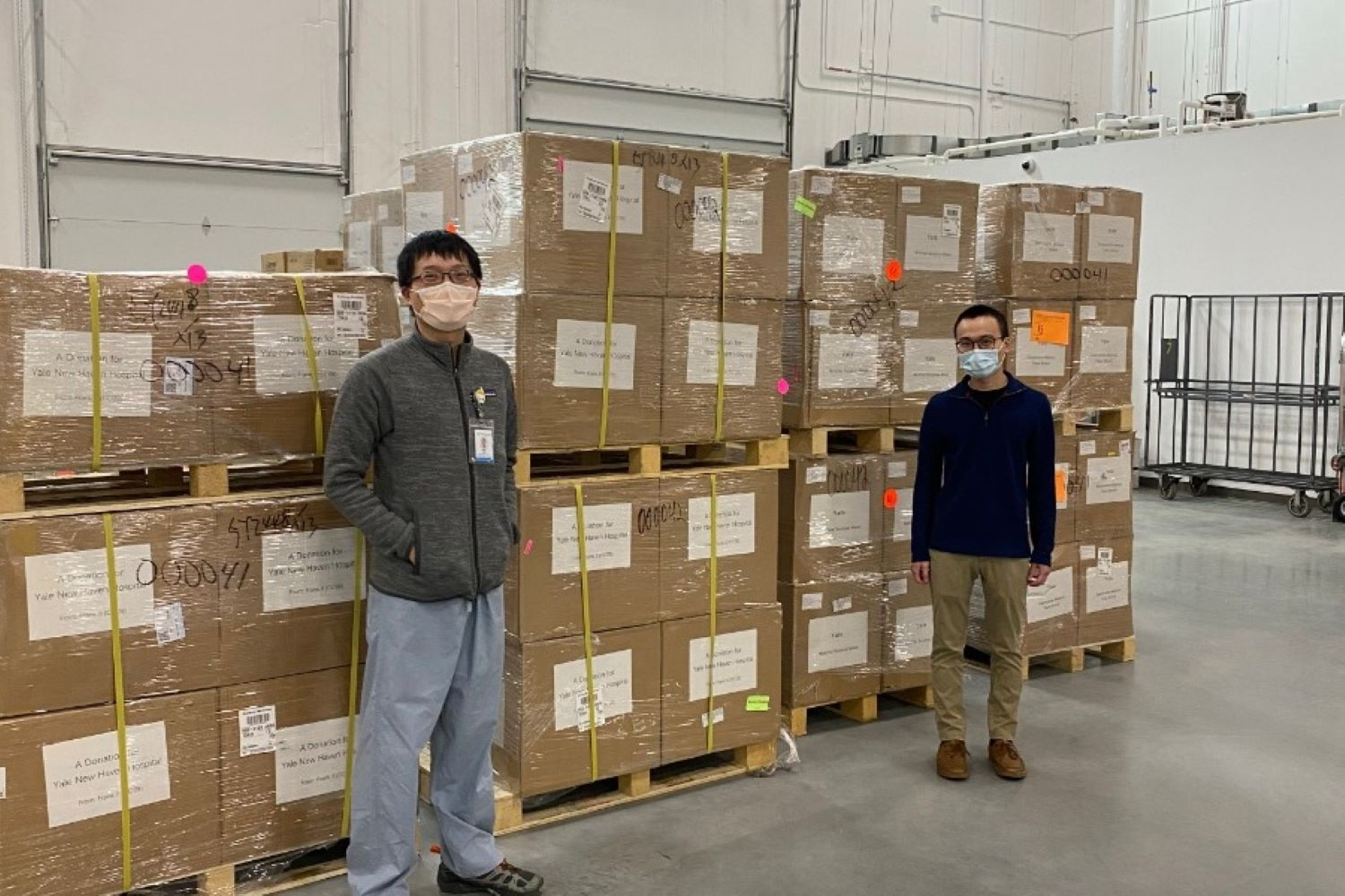 Delivery of nearly 200,000 pieces of personal protection equipment