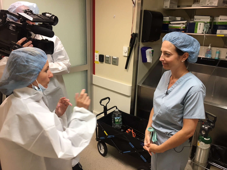 Dr. Moliterno with Fox News