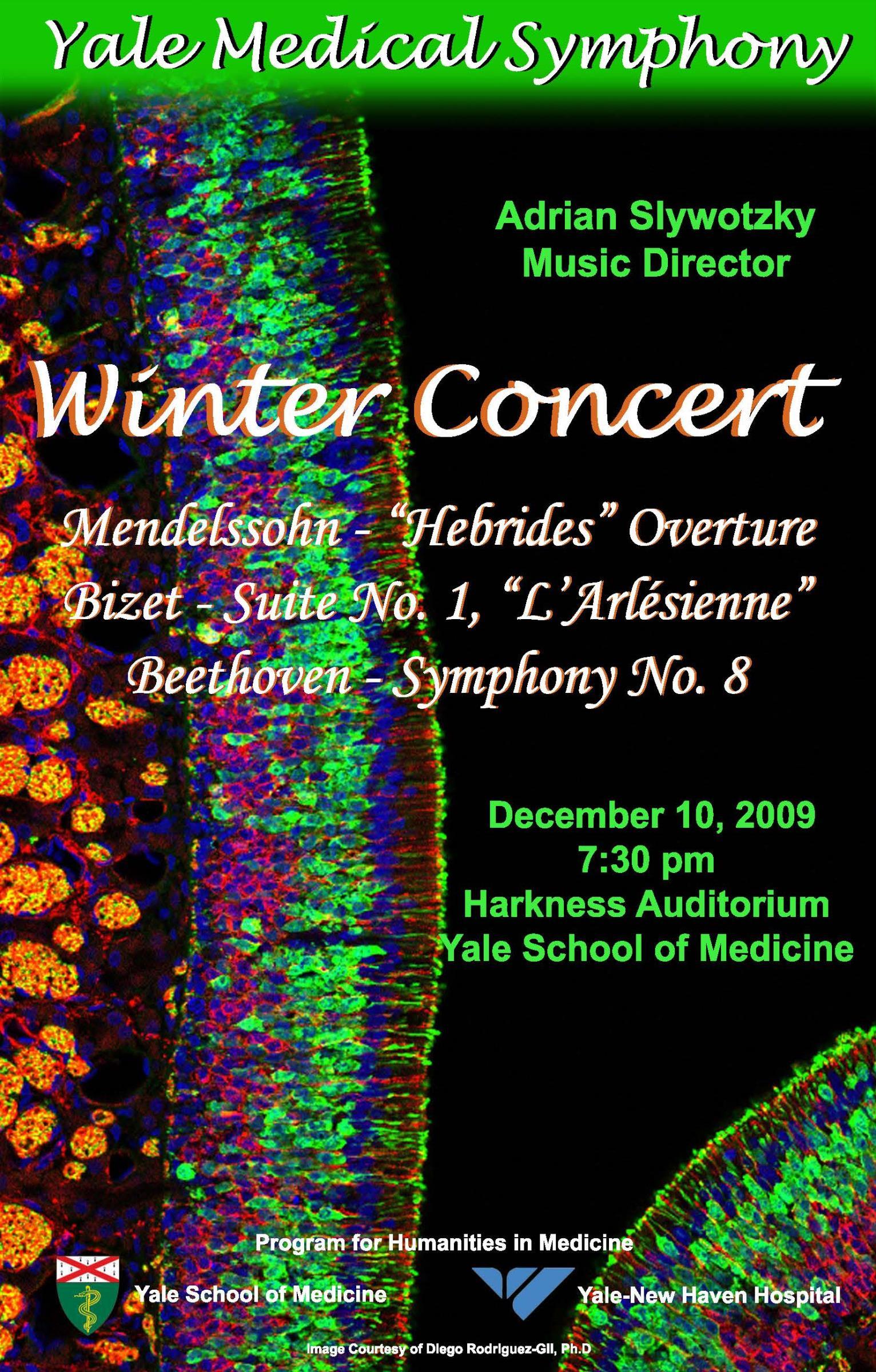 Yale Medical Symphony: Winter 2009