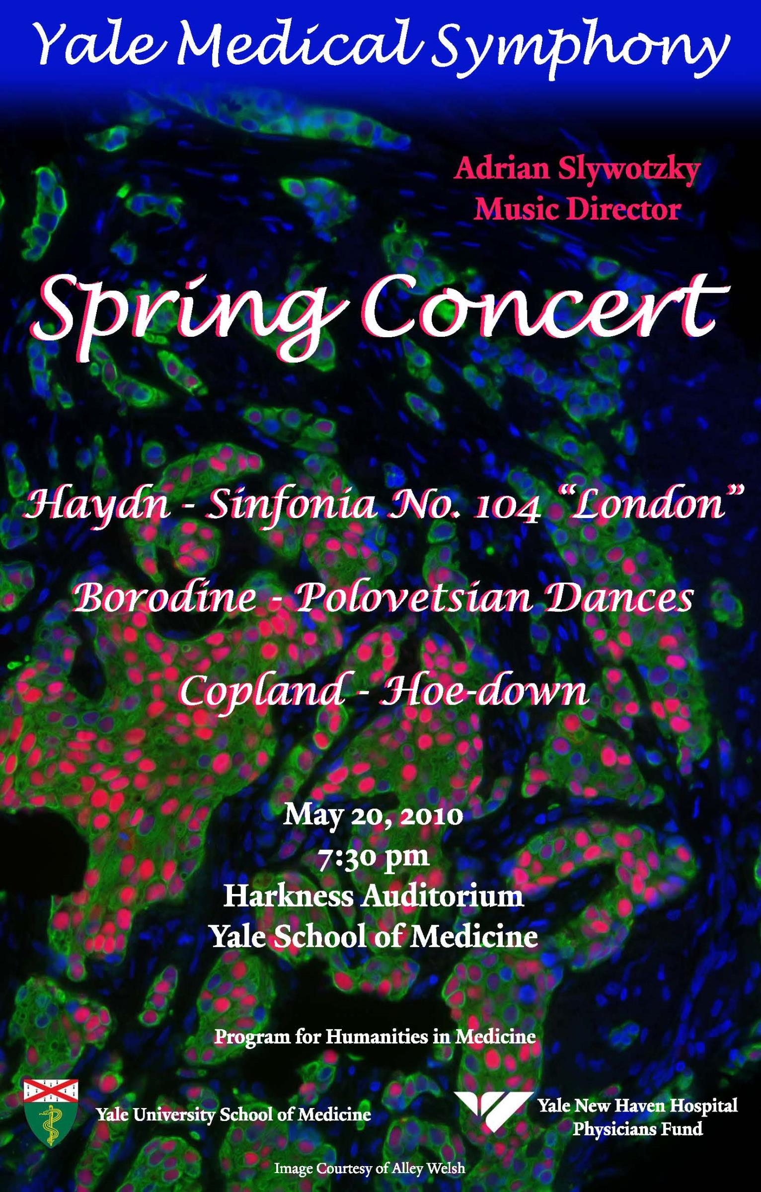 Yale Medical Symphony: Spring 2010