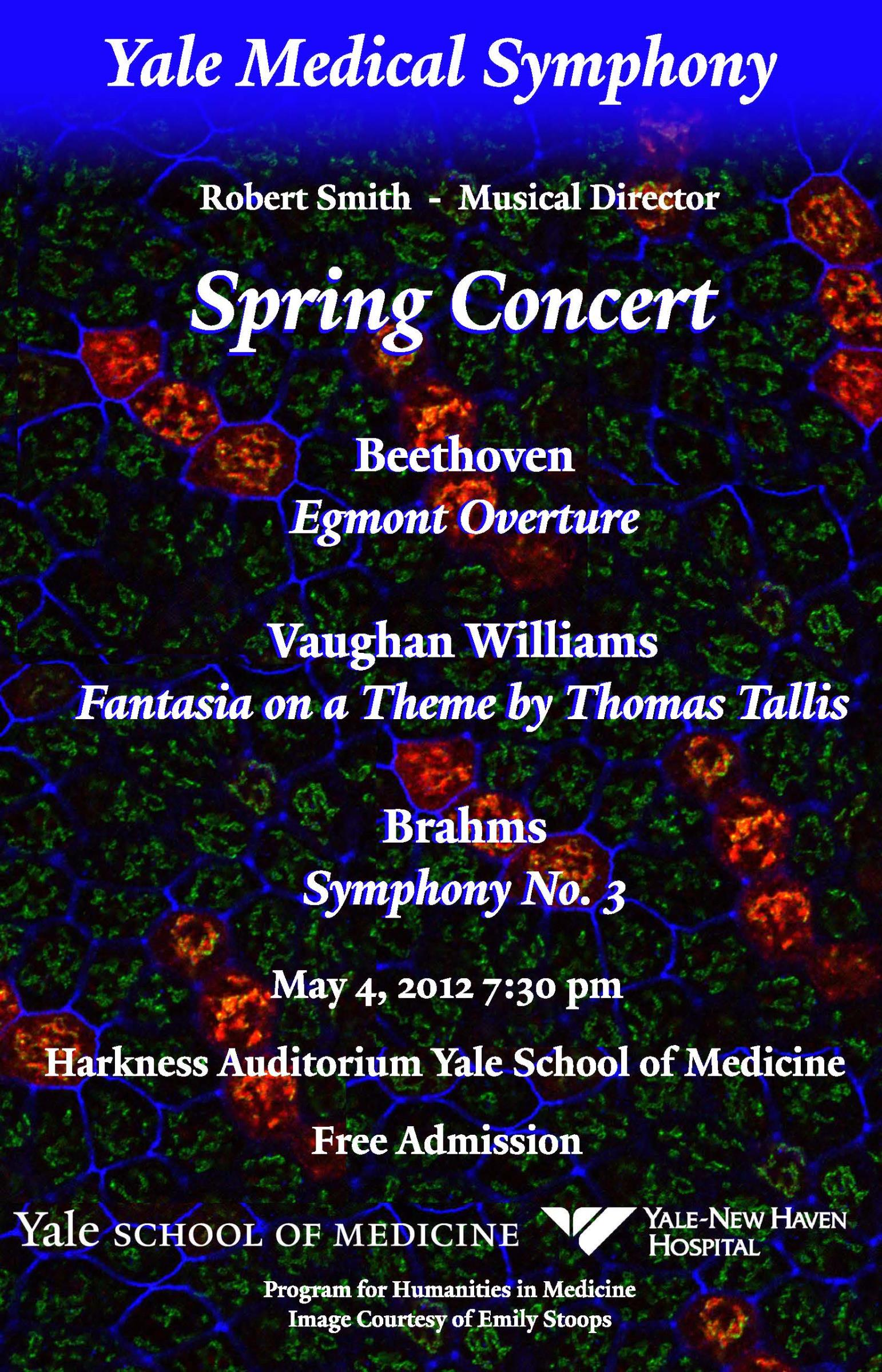 Yale Medical Symphony: Spring 2012