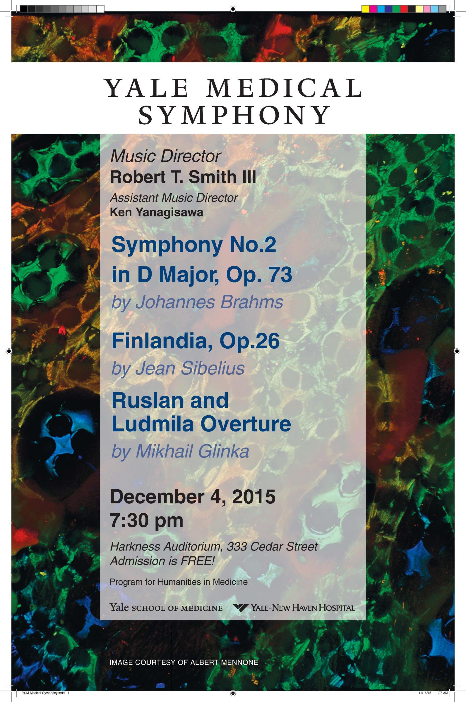 Yale Medical Symphony: Winter 2015