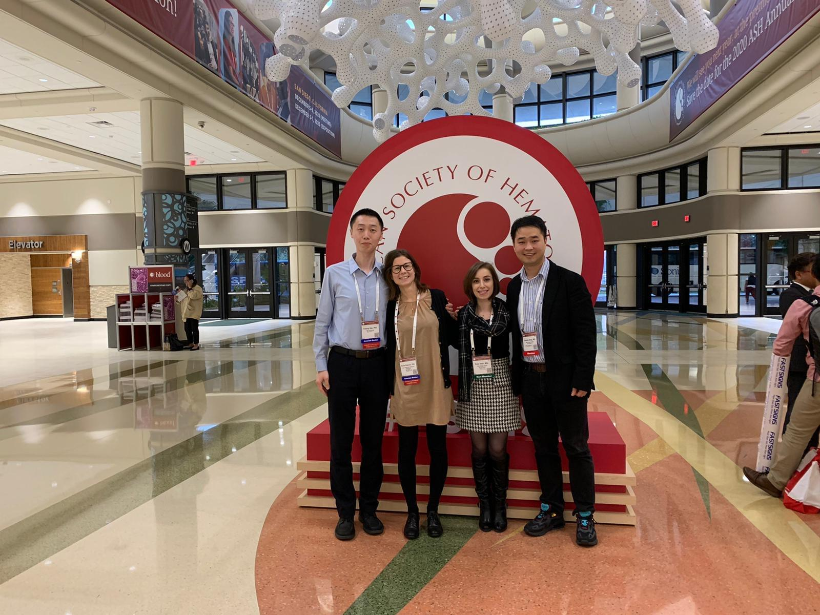American Society of Hematology Annual Meeting 2019, Orlando, FL