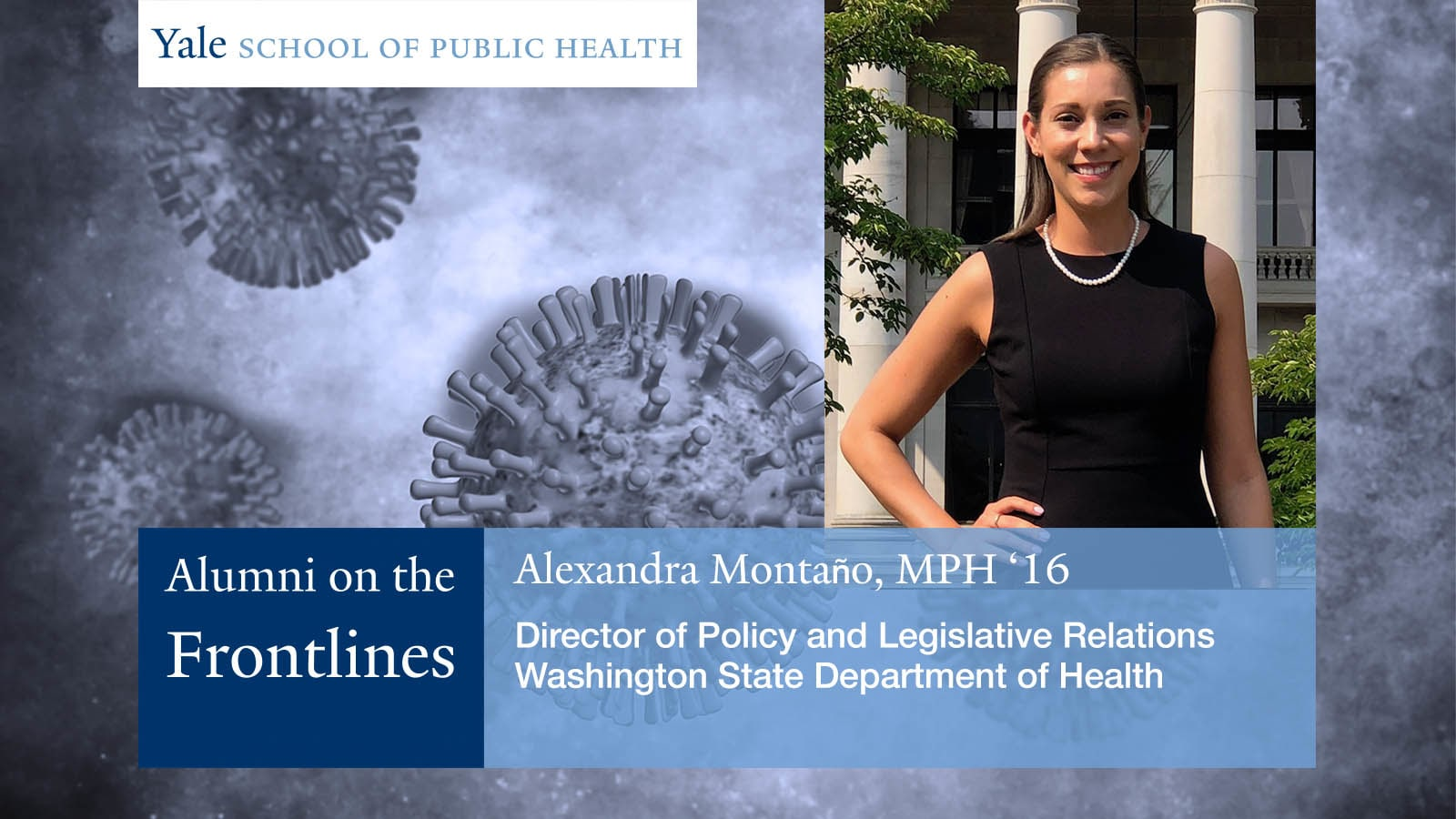 Alexandra Montaño, MPH '16