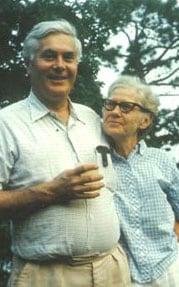 John P. Flynn and his wife, Hulda Rees McGarvey Flynn