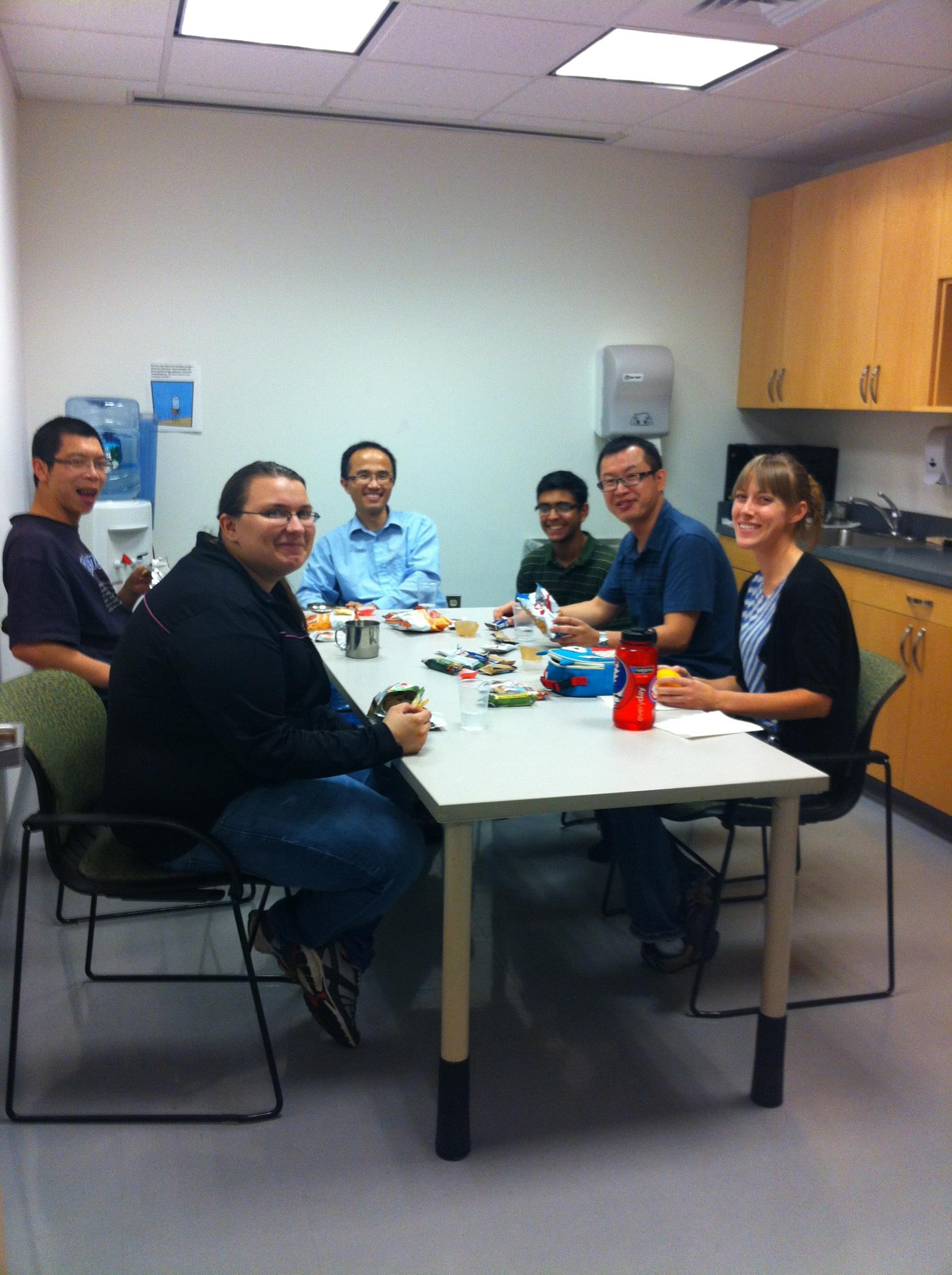 Lab Lunch 2012