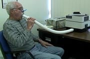 Breathing tests are used to diagnose asthma.