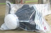 Respirators Stored in Plastic Bag