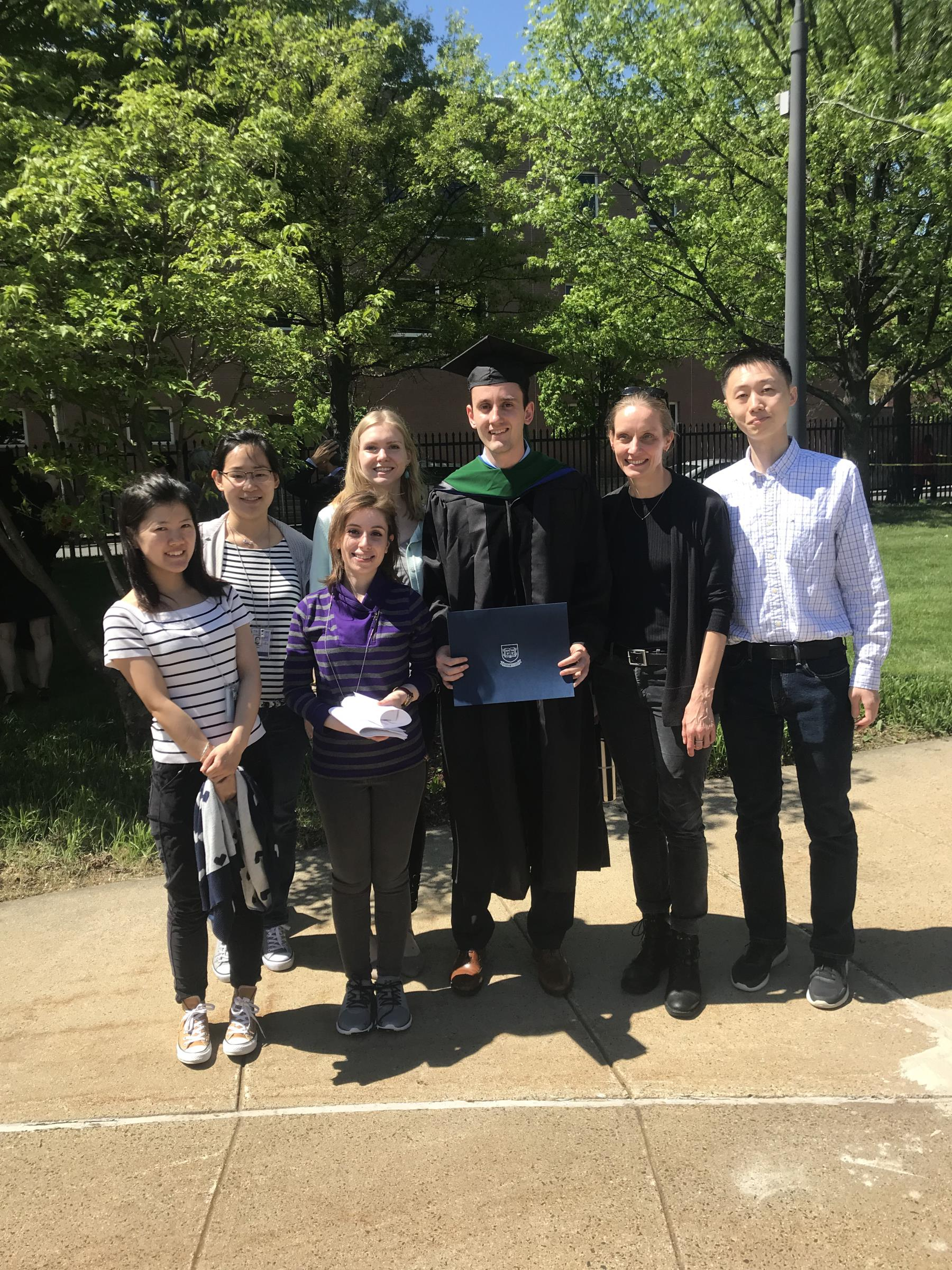Alex's Med School Graduation May 2018