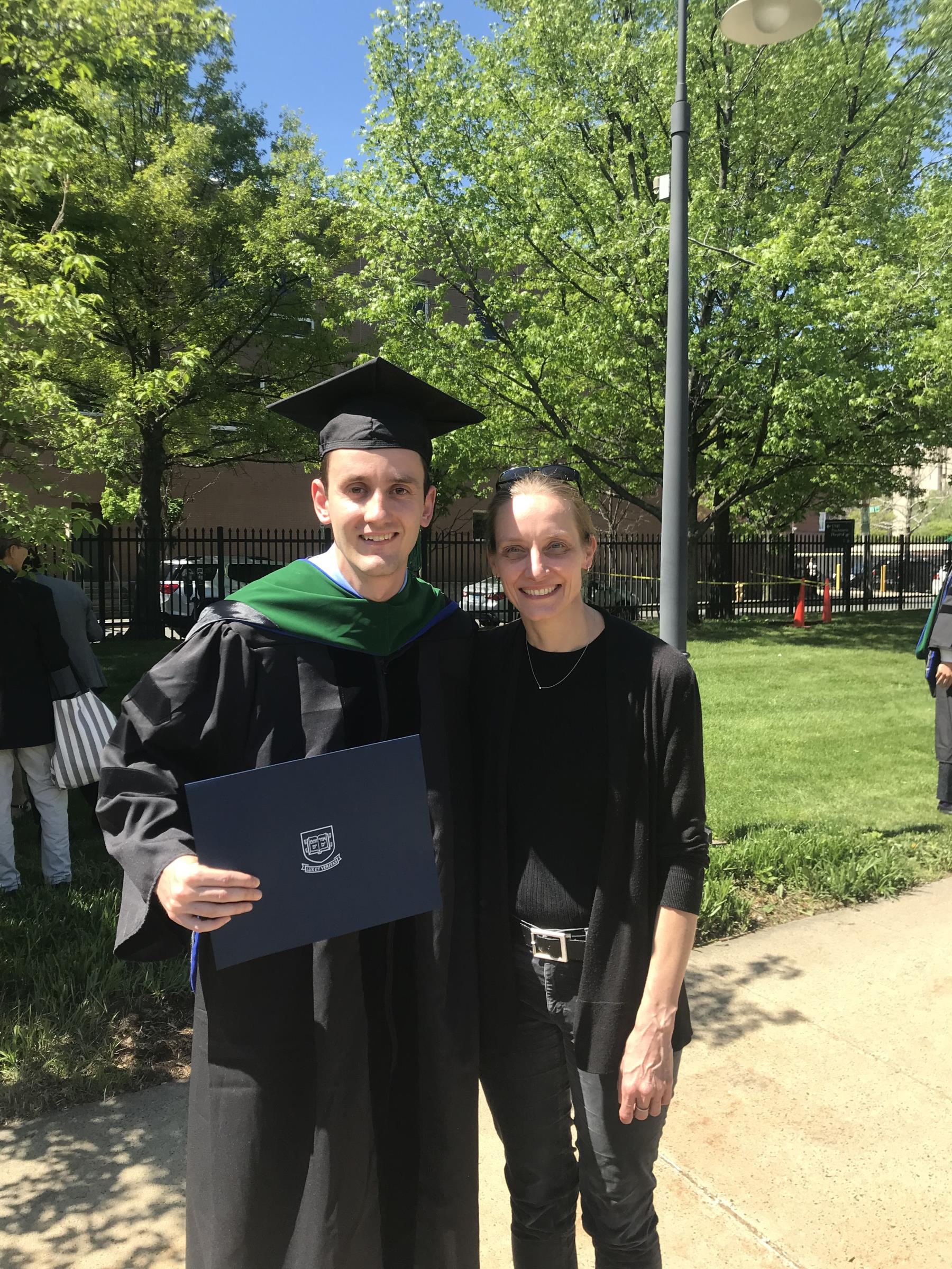 Alex's graduation May 2018