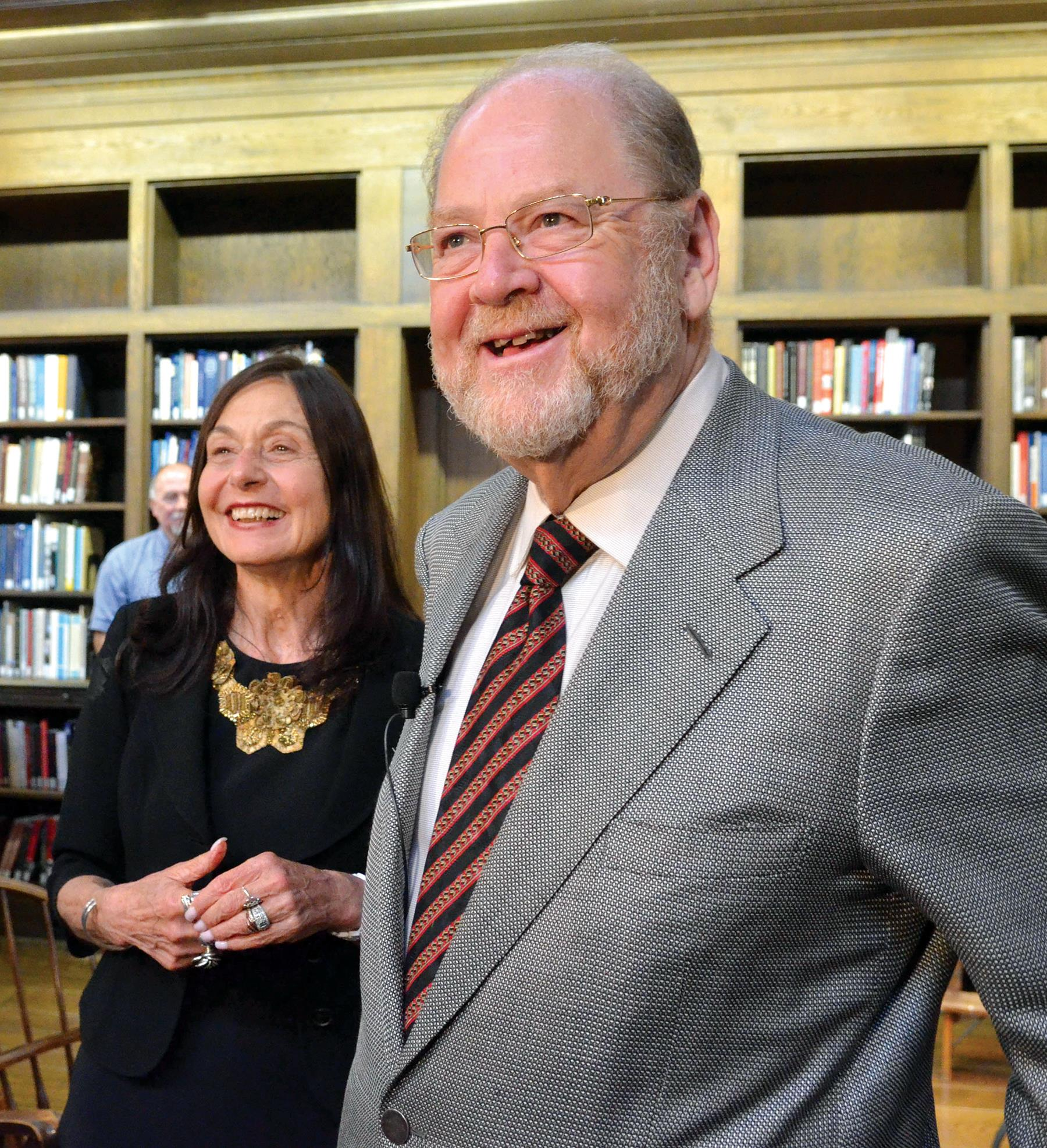 James Rothman, shown with his wife, Joy Hirsch
