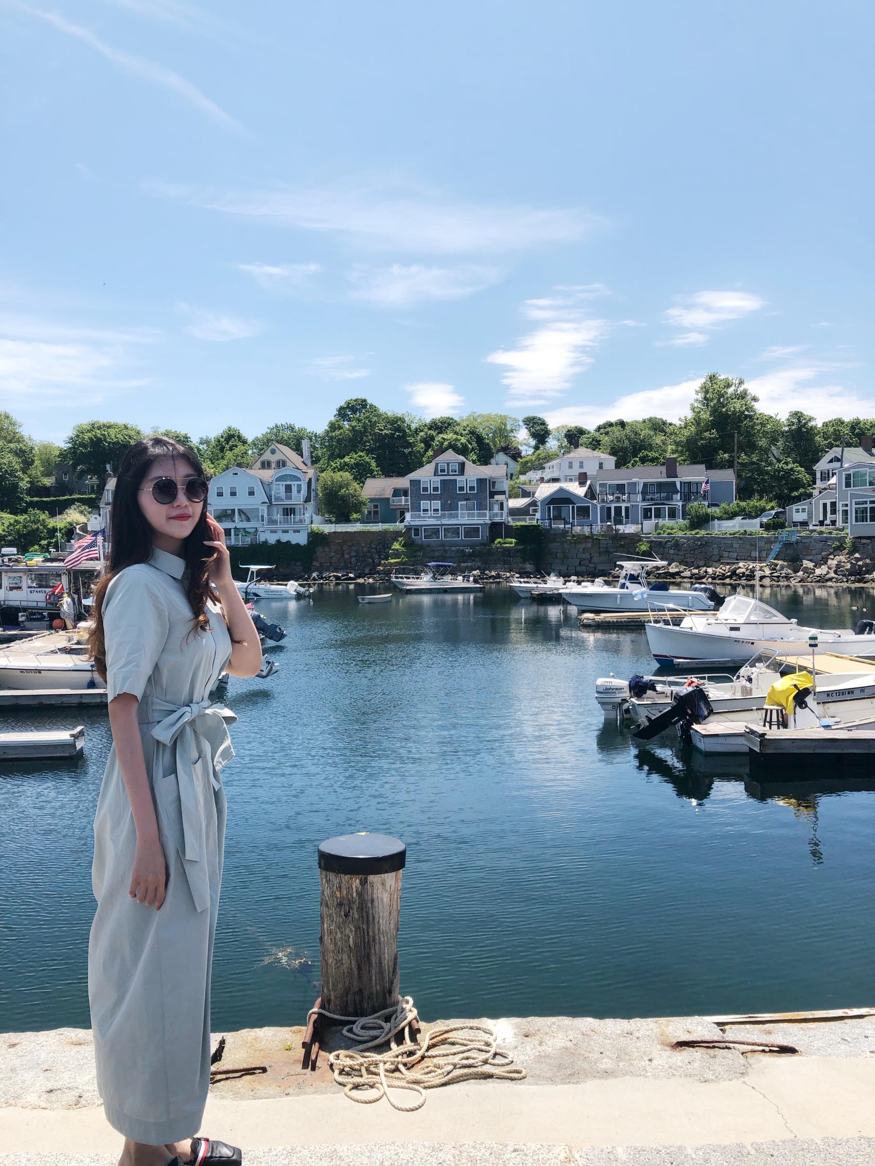 Jing at the docks