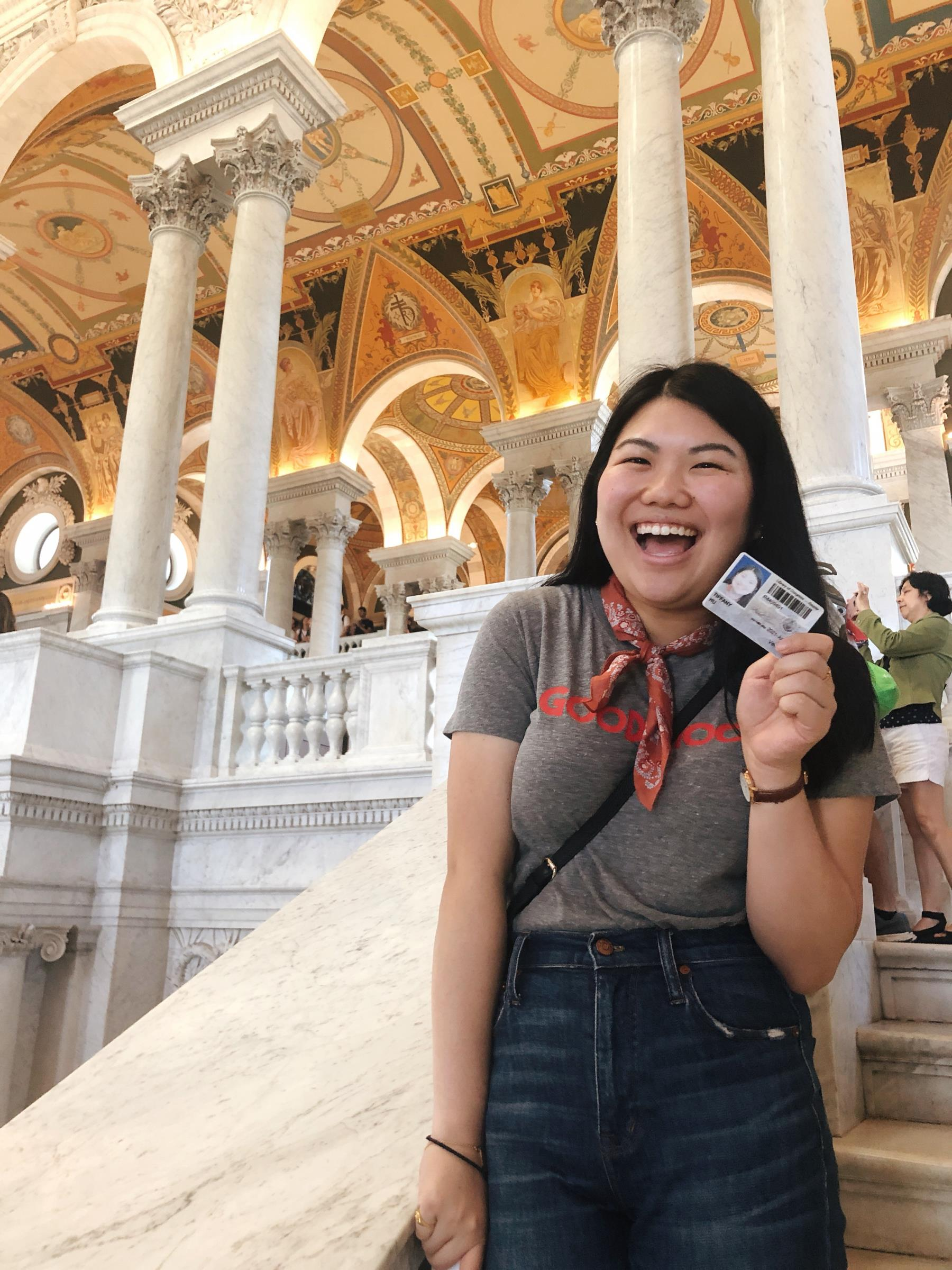 Tiffany at the Library of Congress