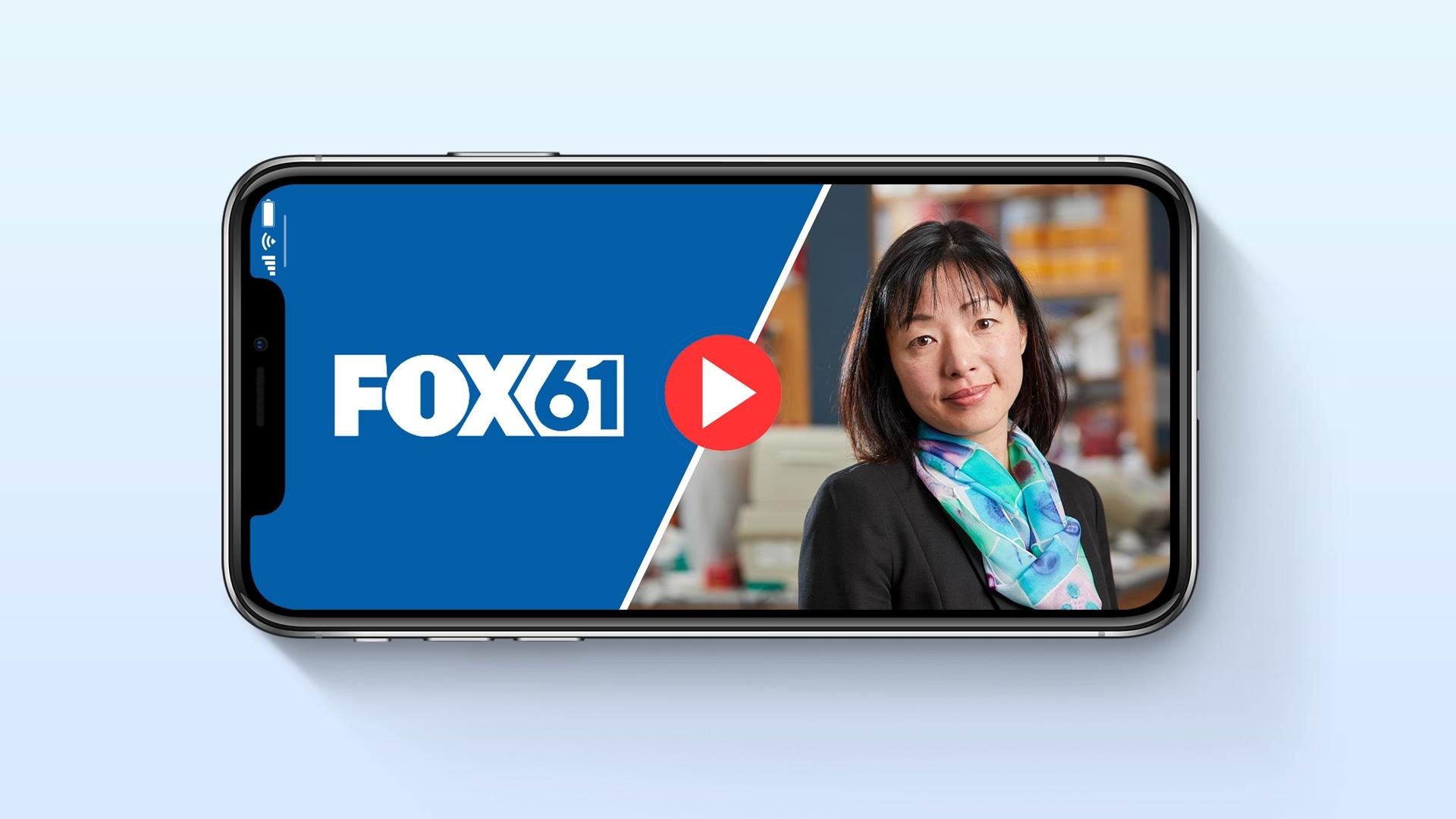 Dr. Akiko Iwasaki on Fox61
