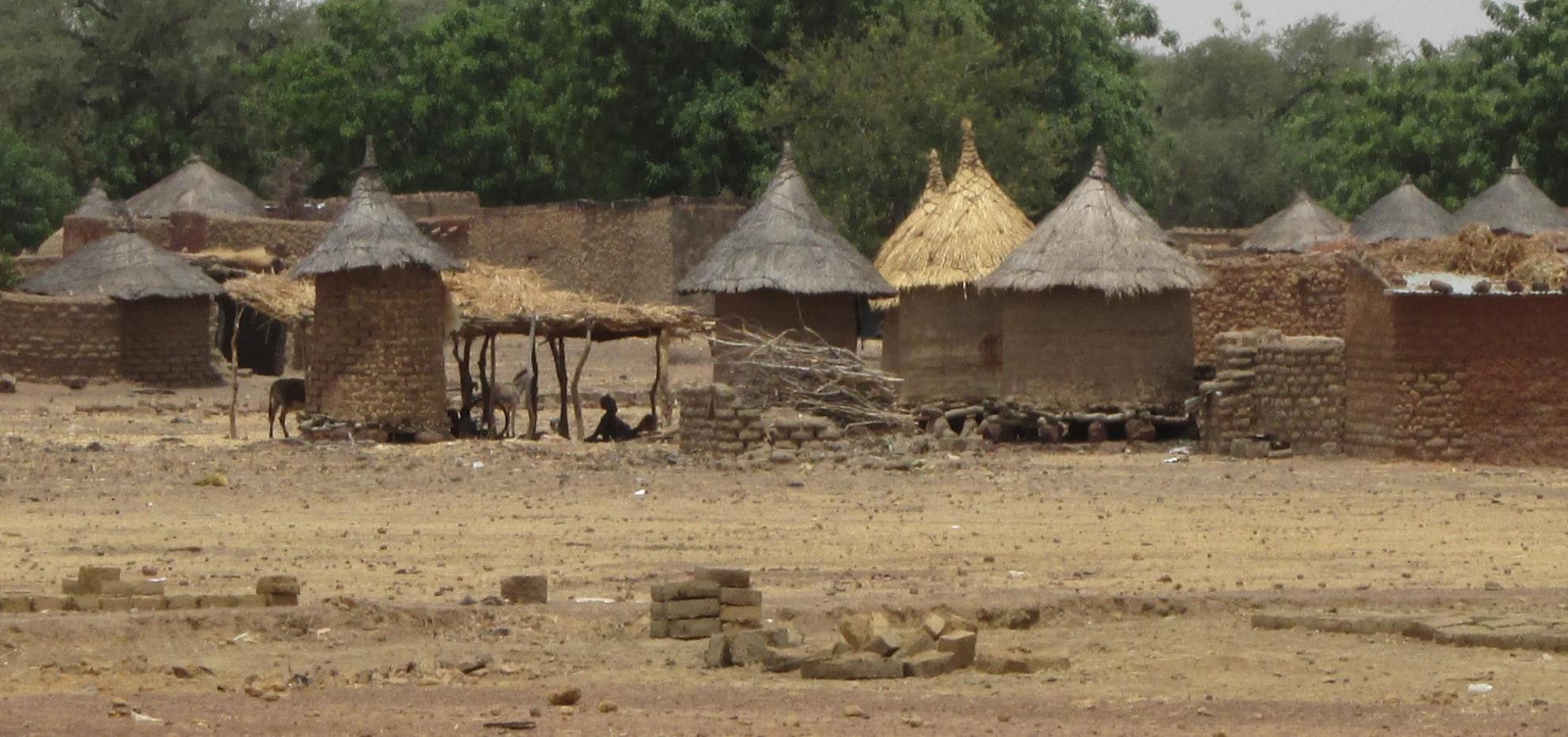 A village in sub-Saharan Africa