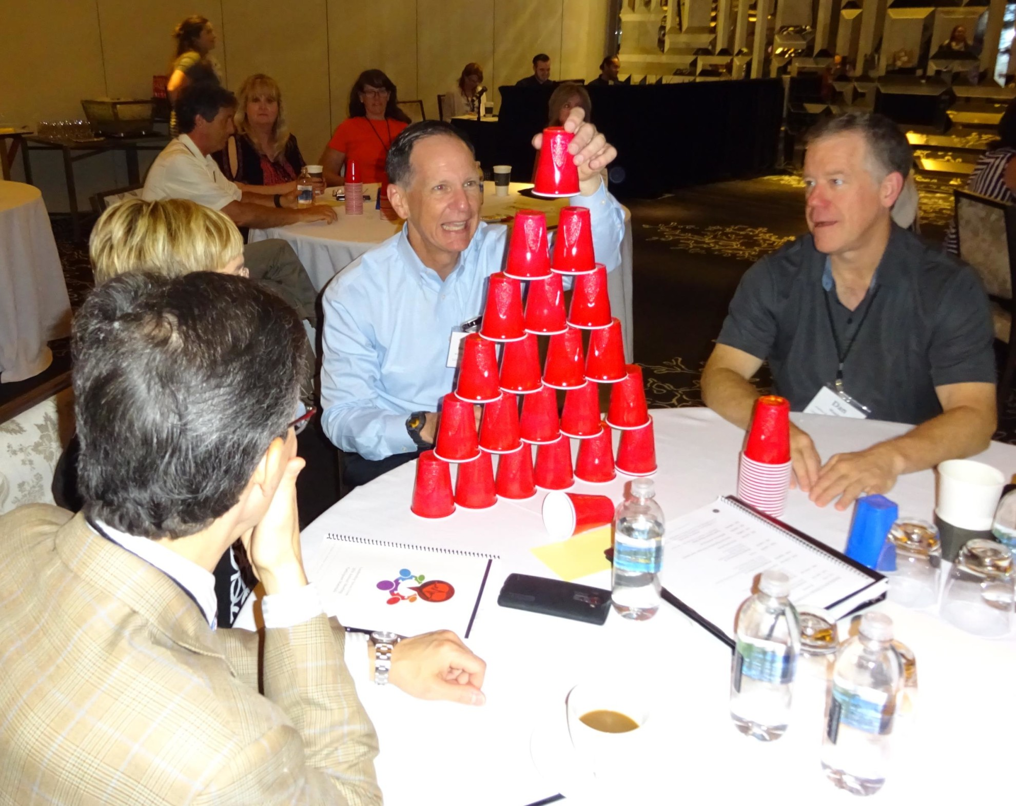 Group activity at the Leadership Saves Lives annual meeting