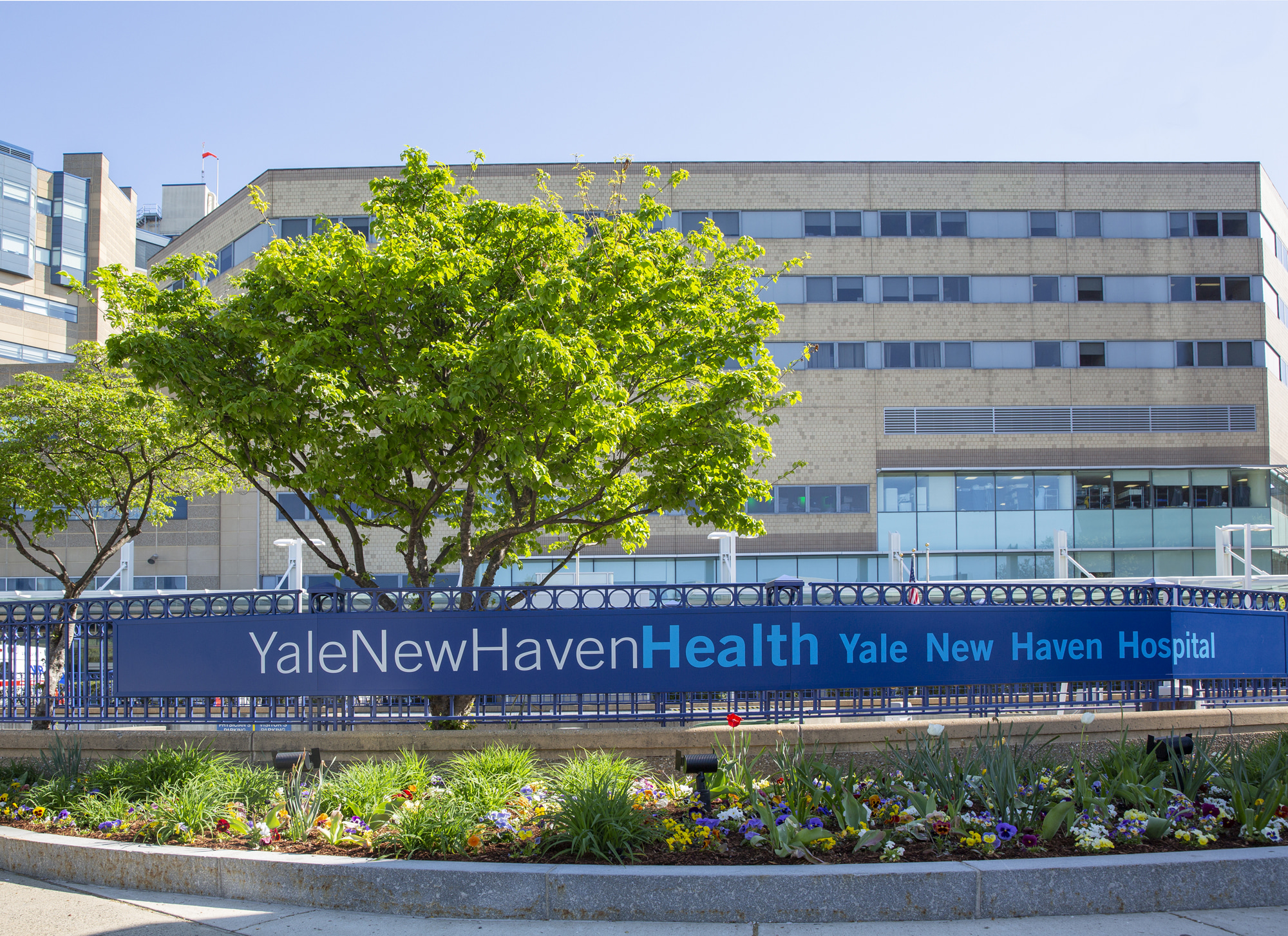 Exterior of YNHH