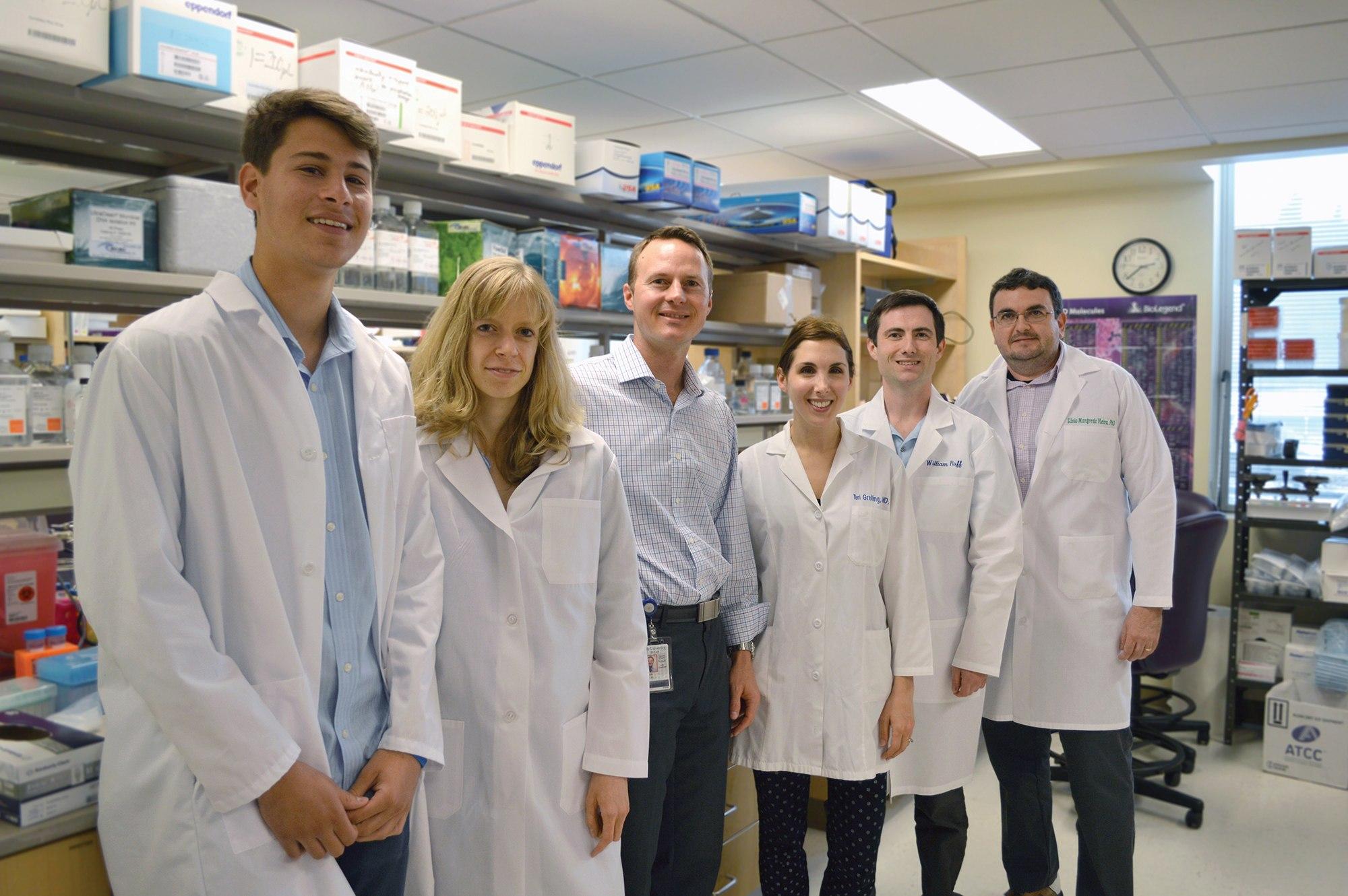 Dr. Martin Kriegel's team