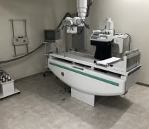 New Fluoroscopy room at the Mloganzila campus of MUHAS