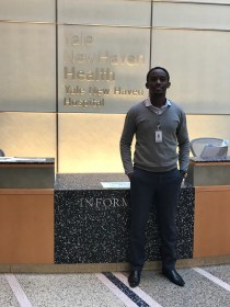 Dr. Ivan Rukundo at Yale New Haven Hospital